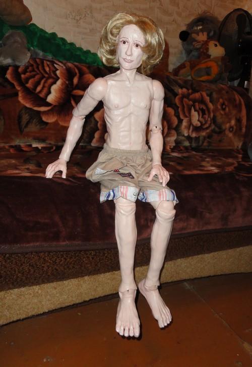 Мастер класс как сделать куклу из полимерной фото 479